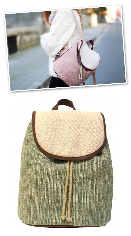 Otras marcas que apuestan por productos casual y cotidianos son: My Balt que proponen modelos artesanos de mochilas con diseños novedosos.