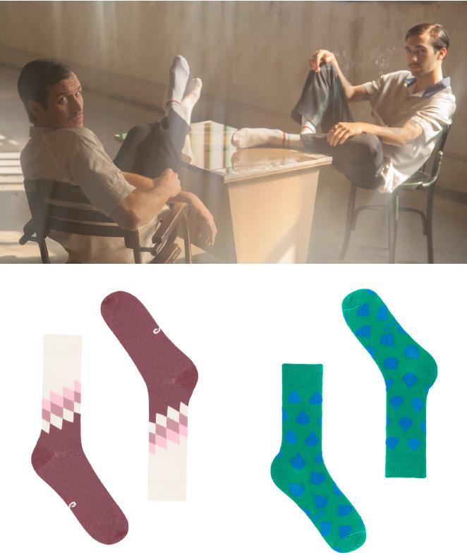 Y también Socketines, la firma nacional de calcetines que conquista con sus originales diseños y apuesta por materiales de calidad entre los que se encuentran el algodón, la lana y el merino.