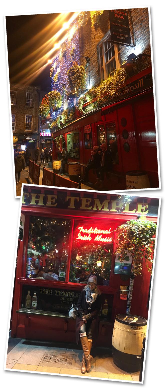 De Dublín destacaría, como os comentaba anteriormente, su entretenido ambiente del que podréis disfrutar en algunos de sus cientos de pubs. A mí me encantó The Temple Bar que cuenta con un planning estupendo de actuaciones en vivo.