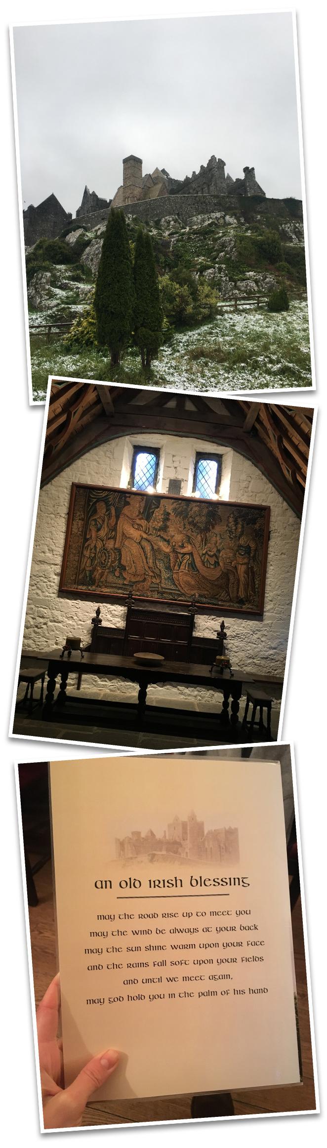 Y la última parte de mi fantástica experiencia en Irlanda (que se me hizo cortísima, por cierto!!) fue en los pueblos de Cashel y Kilkenny donde se pueden visitar espectaculares castillos de la época medieval.