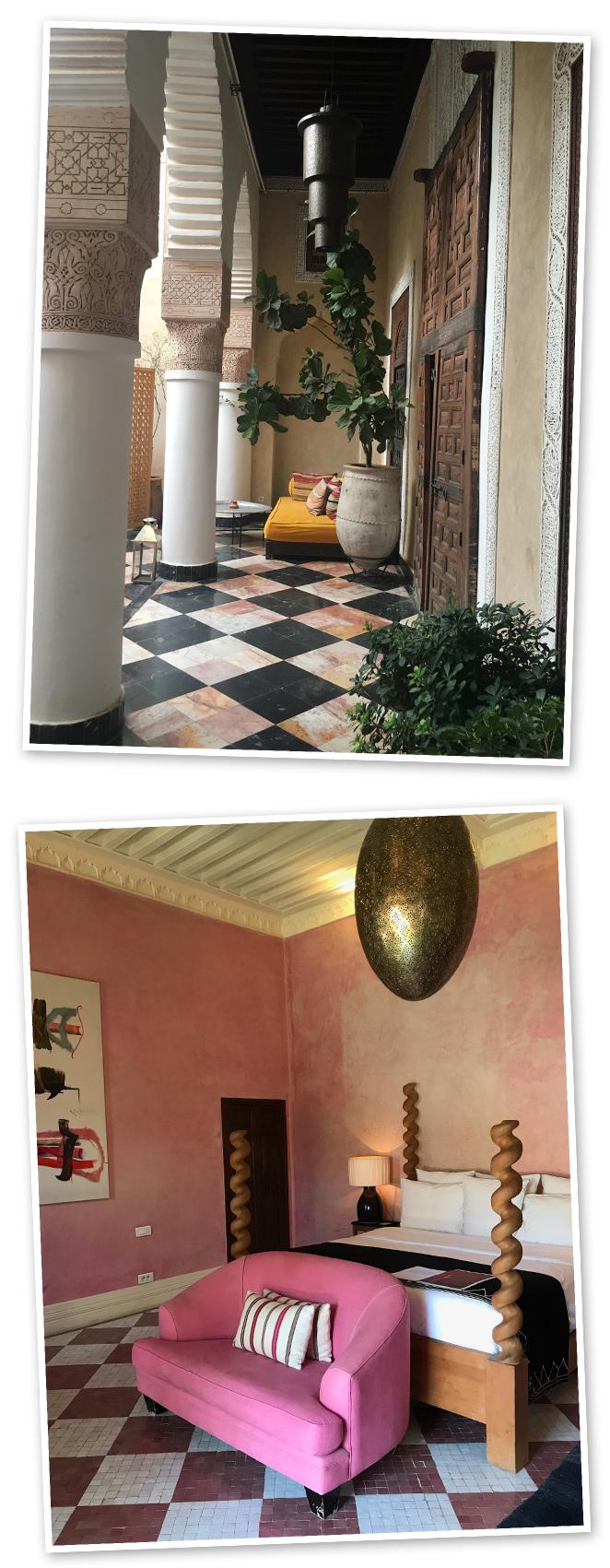 Para vivir una experiencia de lujo inolvidable nada como La Mamounia, un hotel que te hará despertar tus cinco sentidos. El Fenn, uno de los riads de lujo del momento situado en el centro de la ciudad.