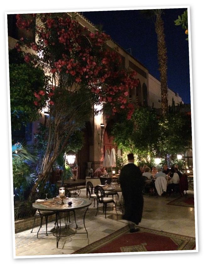 Al Baraka, otro restaurante muy recomendable para disfrutar de las tradiciones de Marrakech.