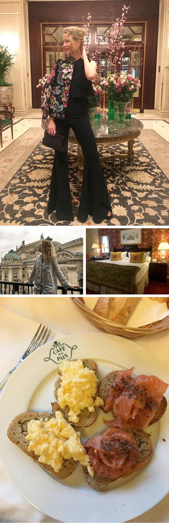 """El Hotel Intercontinental Paris-Le Granddel que me atrevería a decir que es como mi segunda casa por como me siento cuando estoy alllí. Su localización, frente a la Opera es un sueño y sus desayunos en su propio """"Café de la Paix"""" son lo máximo!!"""