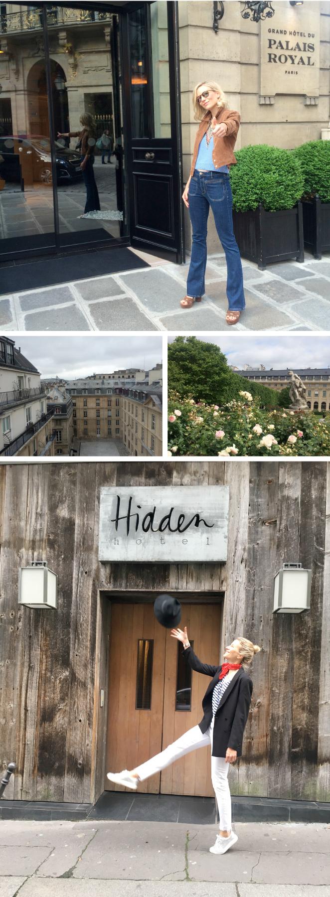 """Para alojamiento en París, recomendaría también el Grand Hotel du Palais Royalpor su óptima localización (justo enfrente de los jardines del Palacio Real) y por la buena calidad de sus instalaciones y servicios. Y si os gusta todo lo """"eco"""", vuestro hotel entonces es el Hiddenque se encuentra cerca del Arco del Triunfo y donde todo es ecológico desde la comida, mobiliario hasta los productos de baño!!"""