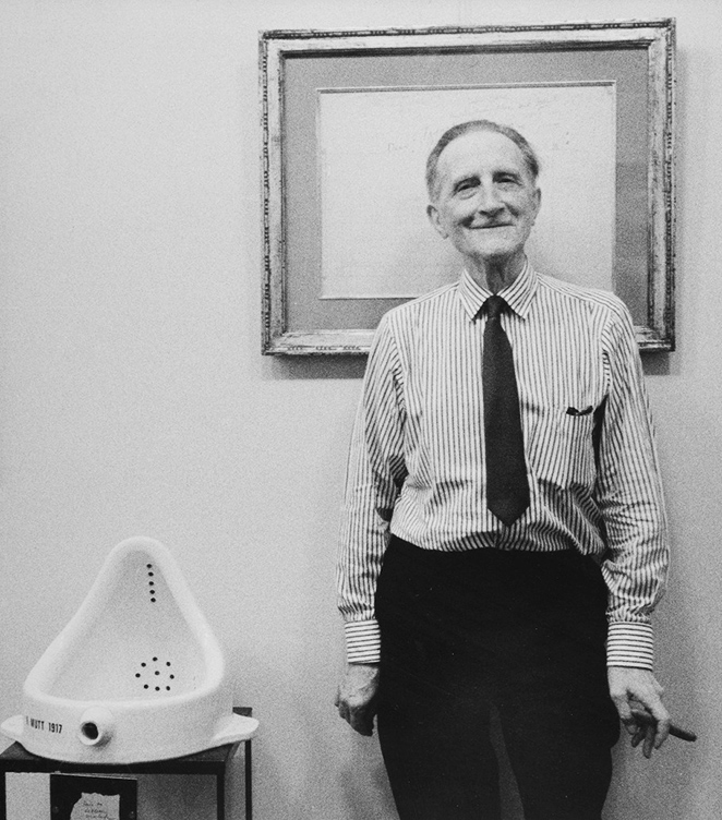 """Duchamp y su controvertida obra """"La Fuente"""" (1917)"""