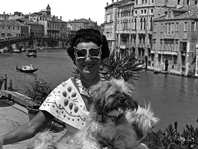 La mecenas del arte Peggy Guggenheim