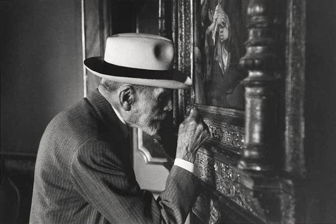El experto en arte Bernard Berenson
