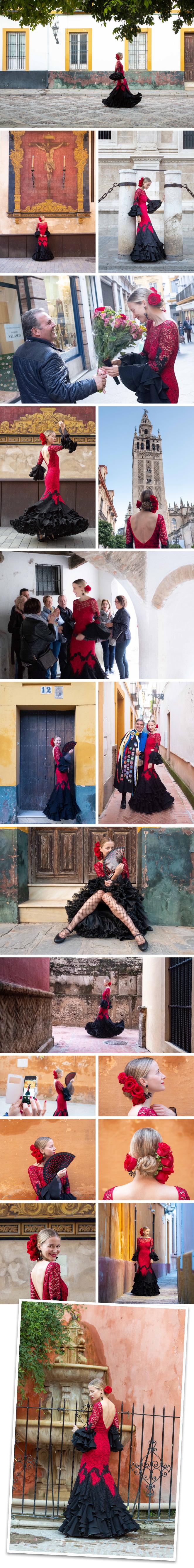 Y que suerte que fuera el gran fotógrafo Tomás Muruagael que me retrató ese día. Hicimos un buen recorrido por mis rincones favoritos del centro de Sevilla
