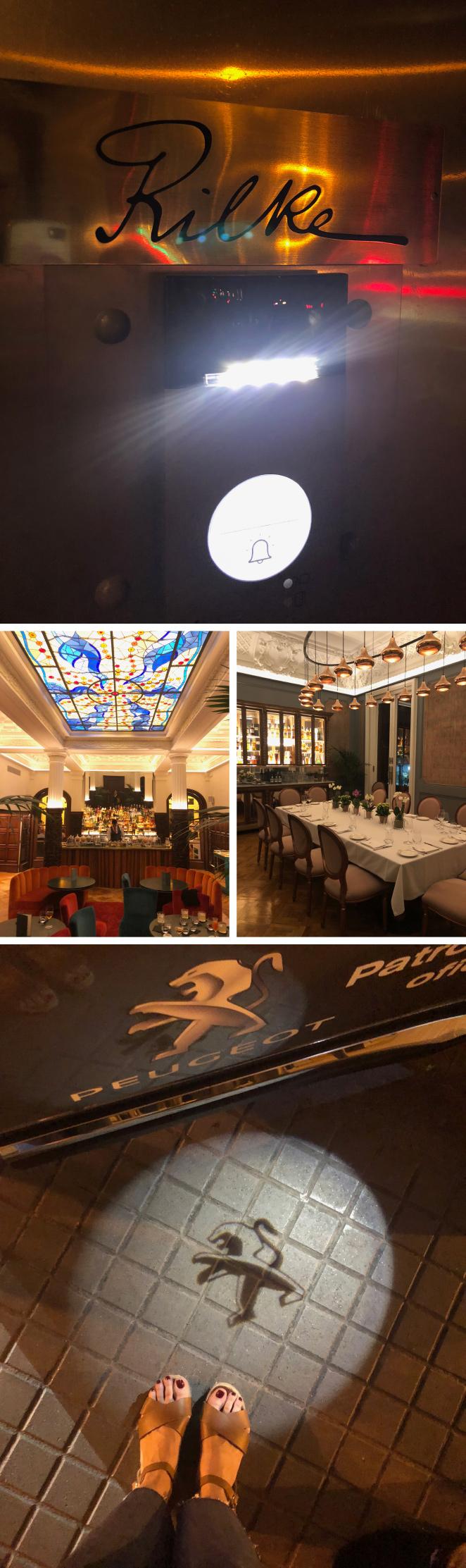 Para cenar, me encantó descubrir Rilke, un clásico y exclusivo restaurante de Barcelona con una propuesta de menú variada y de gran categoría con producto de temporada creada por los chefs Rafa Peña y Jaime Tejedor. Muy famosa es su coctelería también