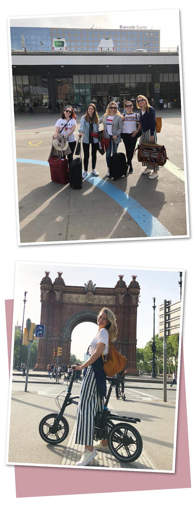 Y hasta aquí nuestro recorrido por Barcelona en las estupendas y manejables bicicletas de Peugeot, la manera más cómoda, rápida y divertida de conocer una ciudad