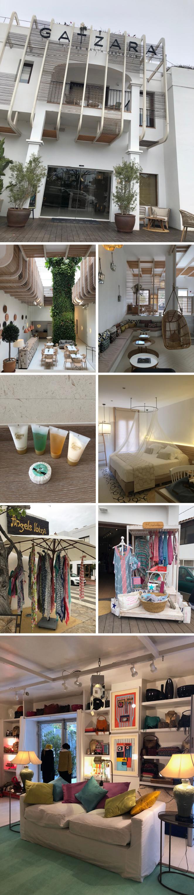 Gatzara Suites Santa Gertrudis, un moderno hotel boutique situado en el corazón de Santa Gertrudis, uno de los pueblos con más encanto del municipio de Santa Eulalia