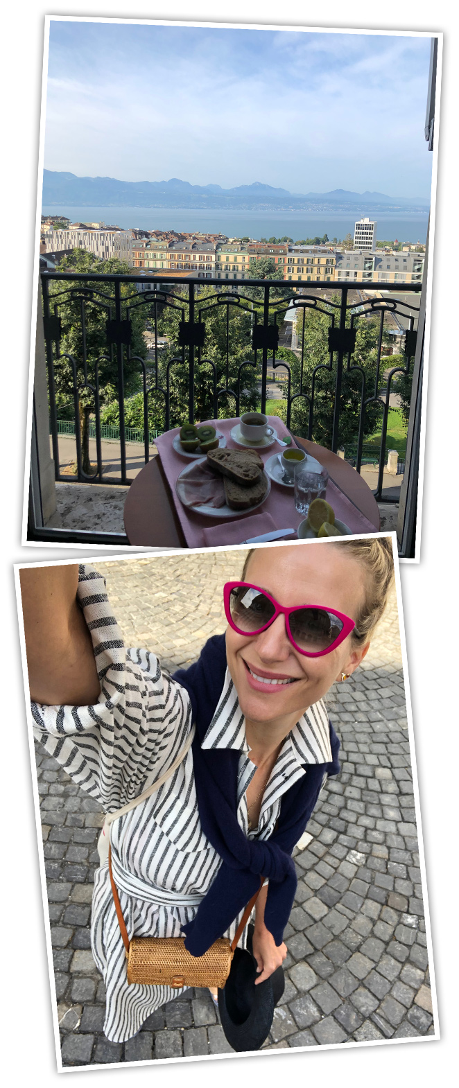 Otro de los puntos fuertes de Lausana es su gastronomía y durante el fin de semana que pasé allí tuve la oportunidad de poder disfrutarla a tope. Me encantaron los desayunos en mi habitación del Hotel de la Paixcon preciosas vistas al lago que hacían que empezaras el día con una energía especial.