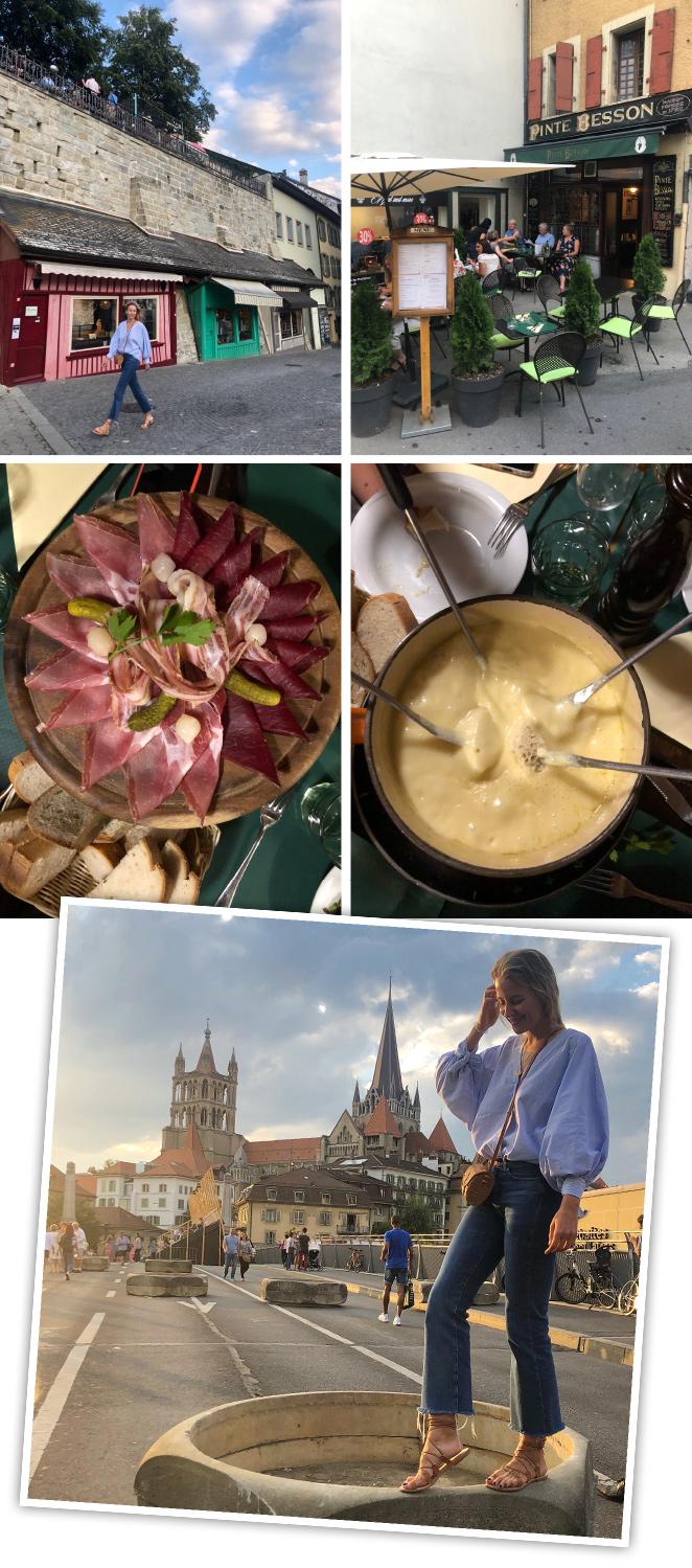 También la fondie de queso del restaurante La Pinte Besson, el más antiguo de la ciudad abierto desde 1760.