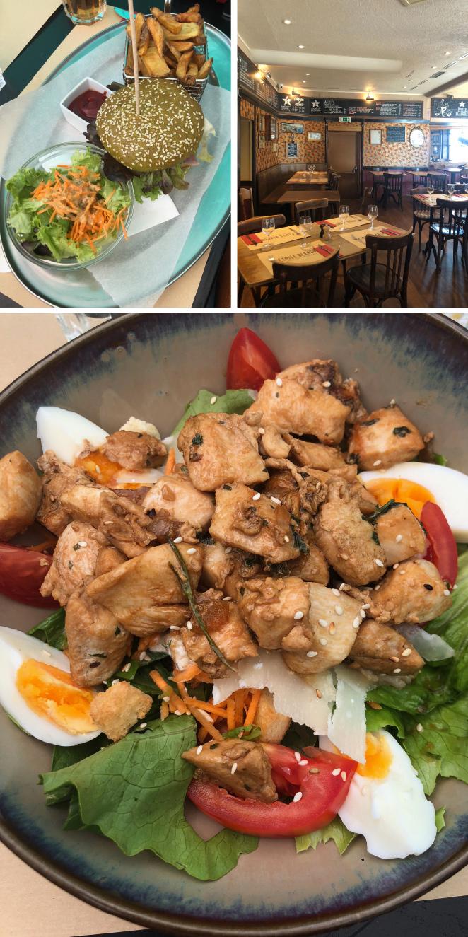 Otro restaurante que cabe mencionar es Ètoile Blanche, perfecto para disfrutar de un almuerzo informal y el cual suelen frecuentar los locales para disfrutar de un afterwork con amigos.