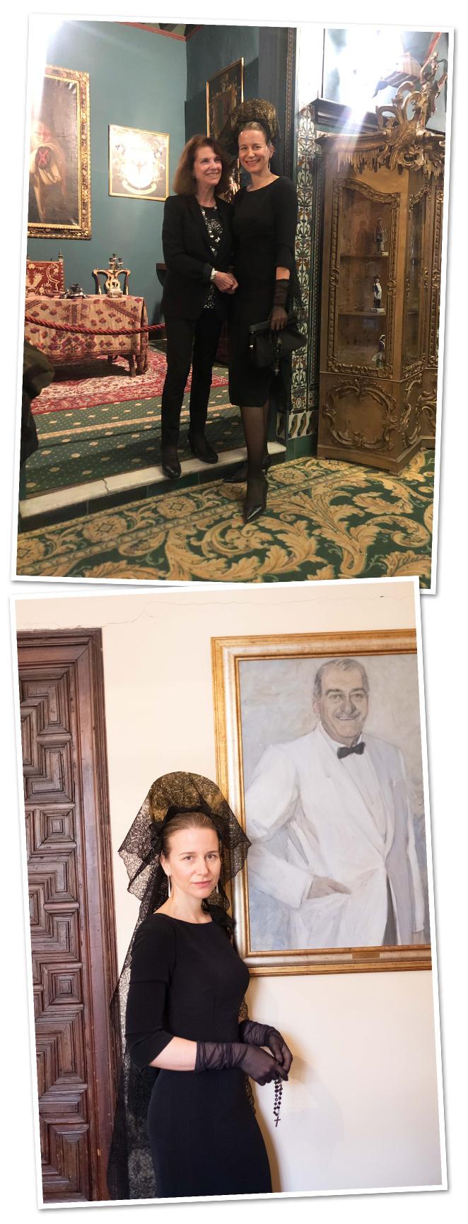 Y, por último, a mi Tía Isabel de León, Presidenta de la Real Academia de Bellas Artes de Sevilla y que trabaja incansablemente para conservar y restaurar cada detalle de nuestra casa familiar, el Palacio de Lebrija, donde viví este gran momento y otros muchos de mi vida cuando mi abuelo, el Conde de Lebrija, vivía.
