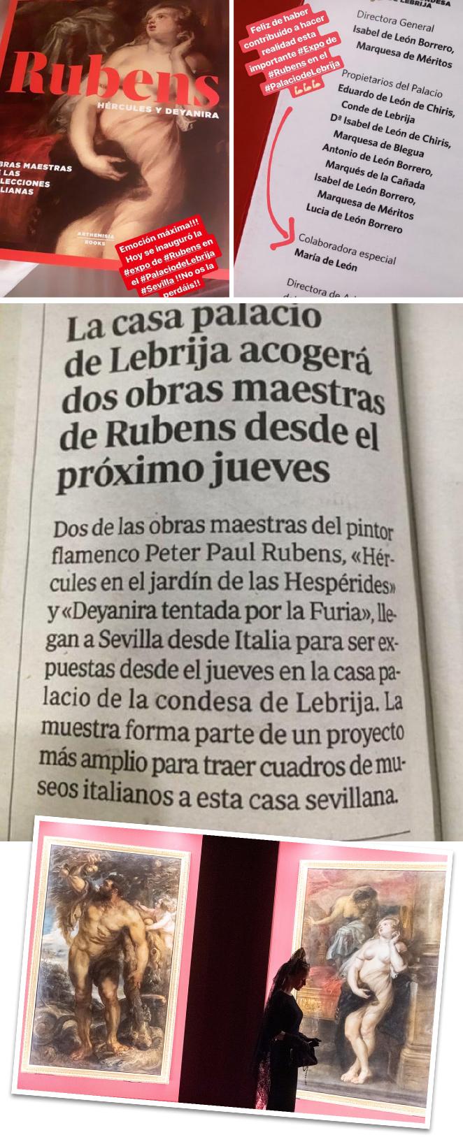 Además, recientemente se ha inaugurado una exposición de Rubens producida por Arthemisia (www.arthemisia.it) y en la que yo he tenido el honor de colaborar para hacerla posible;)!!No os la perdáis si vais a Sevilla!!