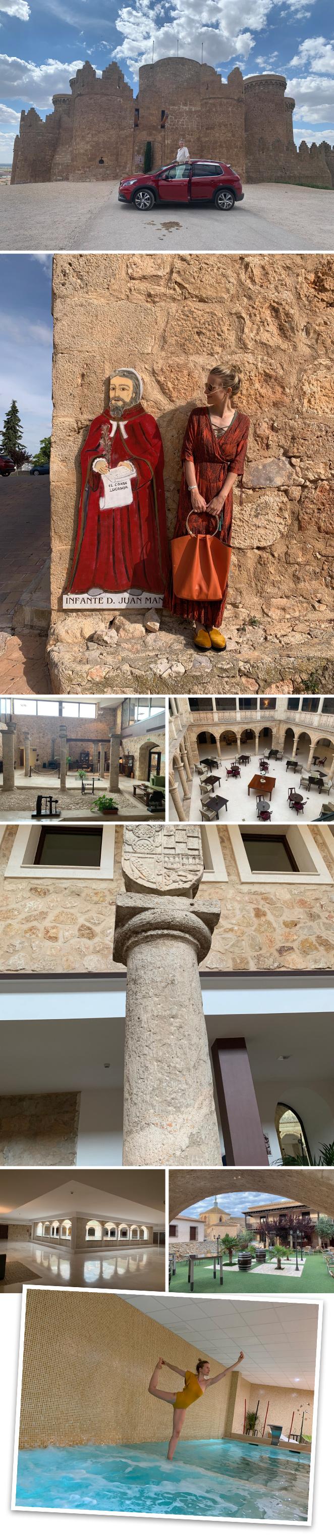 El Hotel Spa Palacio del Infante Don Juan Manuel en Belmonte (Cuenca) ubicado en un antiguo Palacio y Convento del S.XIV espectacularmente reconstruído que cuenta también con un Spa para relajarse.