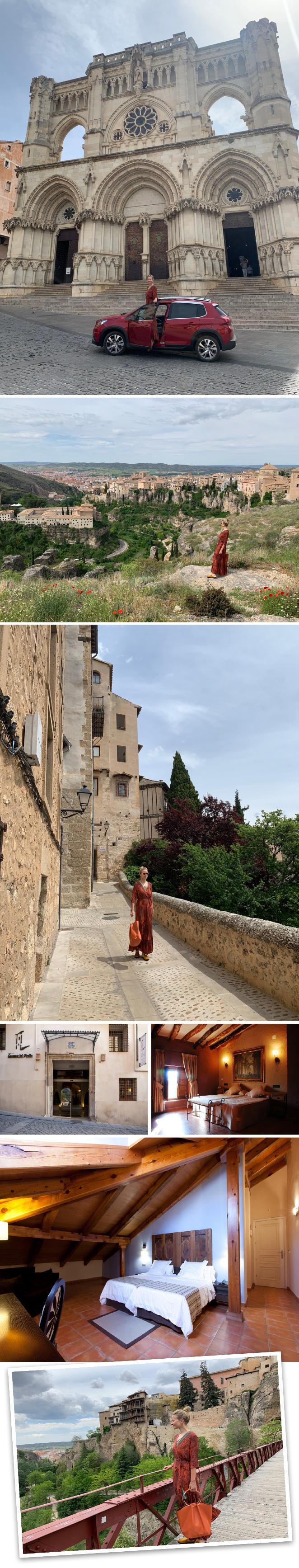 El Hotel Convento del Giraldo en Cuenca. Un hotel con mucho encanto ubicado en pleno caso histórico de Cuenca (su edificio es del XVII) y con preciosas vistas sobre la Hoz del Huécar.