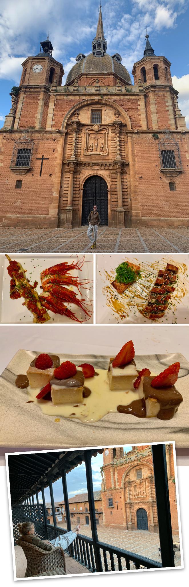 La Hospedería Santa Elena en San Carlos del Valle (Ciudad Real). Es el lugar que eligieron los Reyes de España para alojarse cuando recorrieron esta zona. Fantástico también su restaurante.