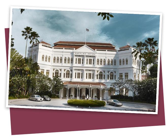 Un Hotel que merece la pena visitar es el Raffles, de estilo colonial y en el que te da la sensación de trasladarte a otra época, pero al que esta vez no pude ir al estar cerrado por reformas.