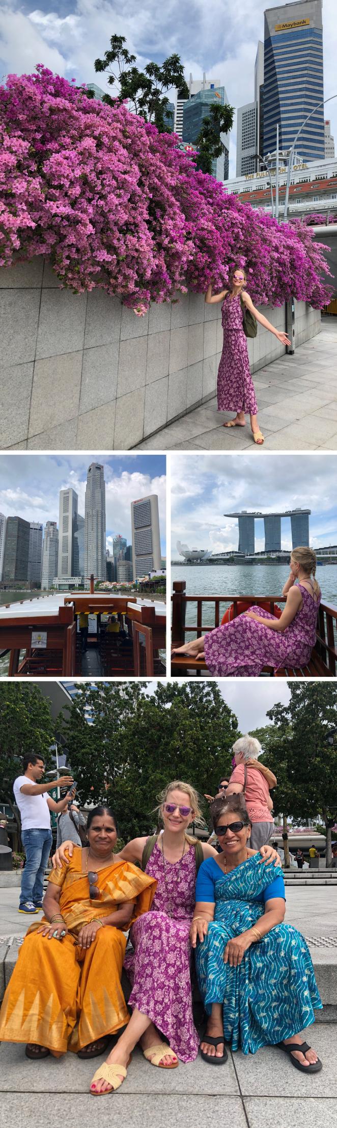Crucerito por Marina Bay. Se embarca en Clarque Quay, un pequeño puertecito con gran encanto situado en el centro de la ciudad y que sigue manteniendo su arquitectura colonial. Este agradable paseo en barco te regala otra visión diferente de Singapur desde la misma bahía.