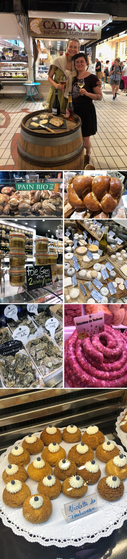 Comenzamos con una divertida experiencia gastronómica: recorrer de la mano de Jessica Hammer, fundadora de Taste of Toulouse, algunos de los lugares donde se pueden encontrar los productos gourmet más exquisitos de la ciudad. Con ella visitamos el Mercado Víctor Hugoy su puestos más especiales. Durante nuestro recorrido, tuvimos la oportunidad de probar productos gourmet de alta calidad como: el delicioso pan hecho con ingredientes ecológicos y los panes brioche de la panadería Maison BeauHaireque fundó Jean-Luc Beauhaire y que ha sido galardonada con importantes reconocimientos. El Foie Gras de Papaix et Fils, los productos de charcutería de Maison Garcia, los vinos de Chai-Vicent Cavey fuera del mercado, la tienda de quesos de Xavier Fromagerie.