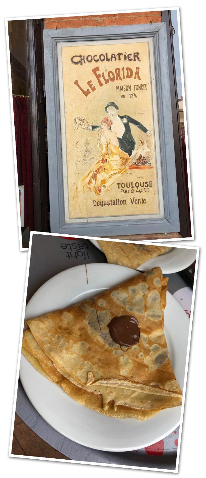 Y en la Galería de la misma plaza Capitol tenéis la Chocolatería Le Florida que existe desde 1874 y donde podréis para tomar unos exquisitos crepes!!