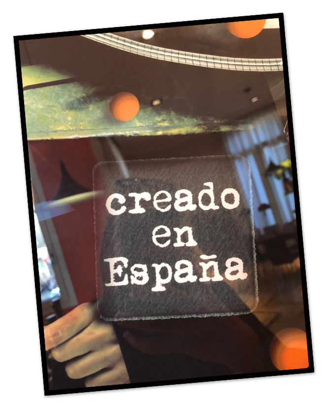 Creado en España Made in Spain